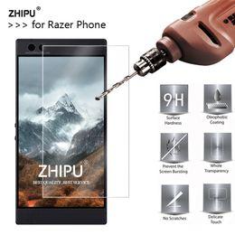 telefone 5.7 bildschirm Rabatt 2.5D 0.26mm 9H gehärtetes Glas für Razer Phone Screen Protector gehärtete Schutzfolie für Razer Phone 5.7