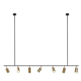 Lampade a sospensione con paralume in oro Lampada a sospensione a LED a sospensione GU10 Design nordico moderno per apparecchio a sospensione in metallo per sala da pranzo da base di profumo fornitori
