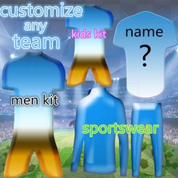 Personalizza qualsiasi squadra 2019 nuove maglie di calcio di alta qualità signore camicia set bambini vestito ordine più di 10 DHL libero supplier lady jerseys da pullover donna fornitori