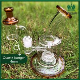 Пузырьки для воды онлайн-стекло бом ДАБ вышка стекла Бонг барботёры нефтяной вышки 14.4mm матричного перхлорэтилена кварц сосиска карбюратор крышка вода бом стекла барботер доставка бесплатно