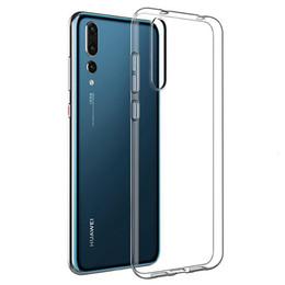 Un PCS Caso trasparente libero per Huawei P30 P20 Lite Pro P10 MAS P9 intelligente 2.019 ultra sottile sottile di silicio TPU pronto Stock da