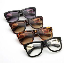 Lunettes de soleil rondes de haute qualité 50mm 3447 vert clair miroir lentille or métal designer marque lunettes de soleil avec étui des lunettes de soleil ? partir de fabricateur