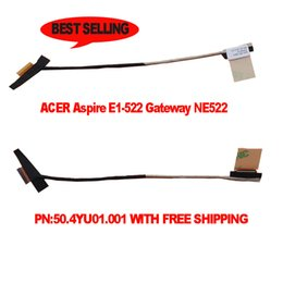 Neue Original LCD LED Video Flex für ACER streben E1-522 Gateway NE522 Laptop Bildschirm Display Kabel 50.4YU01.001 50.4YU01.011 von Fabrikanten
