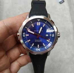 2019 gomma oceano Orologio IW Fashion High Quality 1887 Sport Prince Tg 329005 Sport Blue Ocean Watchband da uomo Spedizione gratuita gomma oceano economici