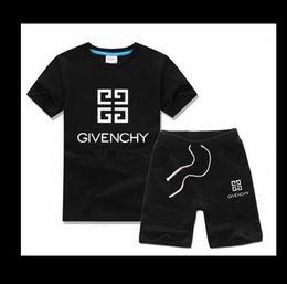 8d4b3d75a 2019 HOT boy Kids Sets Niños camiseta y pantalón de algodón para niños  bebés bebés niños traje de verano bebé deporte traje AD01-022 juegos deportivos  para ...