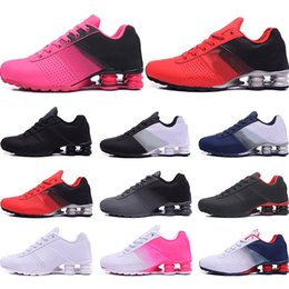 colorful tennis shoes Coupons - Designer Shoes R4 Nz Mens Running shoes black red gold blue white Pink colorful New Arrival Athletic Trainers Sports Sneakers size 40-46