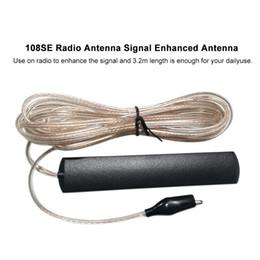 alto-falantes de rádio ds Desconto A HOME video audio portátil 108SE aumenta a antena de rádio do sinal comprimento de 3,2 medidores