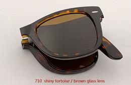 Occhiali da sole pieghevoli all'ingrosso online-All'ingrosso-2019 quadrati Pieghevoli quadrati pieghevoli occhiali da sole Uomo Donna Retro Vintage Occhiali da sole all'aperto rd4105 Guida designer uv400 gafas