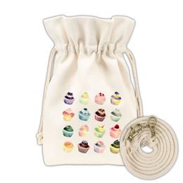 Deutschland Mode Cartoon Designer Cross Body Taschen Leinwand Umhängetaschen Handtaschen Geldbörse Druck String Messenger Totes Tasche cheap cross body bag strings Versorgung