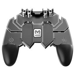 2019 spiel-gaming-controller AK66 Handy-Spiel-Controller Gaming-Trigger Joystick Gamepad-Konsole für PUBG L1R1 Phone Game Tools rabatt spiel-gaming-controller