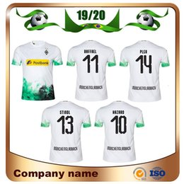 футбольная форма borussia Скидка 19/20 Borussia Mönchengladbach Футбольные майки 2019 Home HAZARD GINTER Футболка RAFFAEL PLEA ELVEDI ZAKARIA Футбольная форма продаж