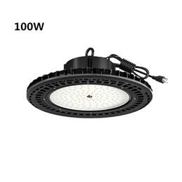 UFO 240W LED High Bay Light Dimmable UL cUL DLC 32000LM  IP65 Warehouse