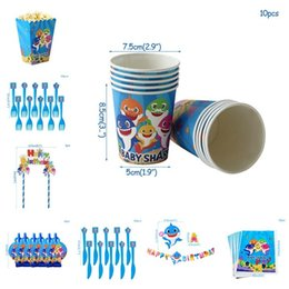 Piccola drogheria online-New Shark Birthday Baby Party Party Party Party Special Small Goods and Groceries Souvenir T3I5023