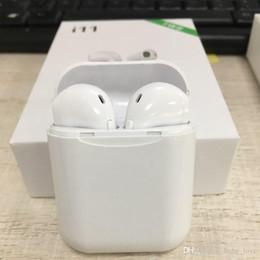 Canada I11 TWS Mini Bluetooth Écouteur Sans Fil Basse Earbud Bluetooth 5.0 Version Stéréo Avec Charge Box Mic pour Tous Apple Android téléphone Offre