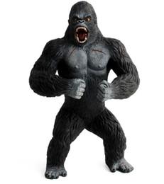 2019 juguetes de enredo Tamaño grande 7.48 pulgadas Colección King Kong Figura de acción animal Modelo para colecciones Modelo Juguete para niño Regalo WJ157 Envío de la gota