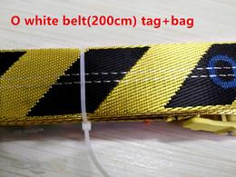19ss nueva moda de alta calidad lienzo blanco cinturón hombres ocio dorado amarillo cinturón bien hecho lienzo hombres mujeres cinturones 200 cm desde fabricantes