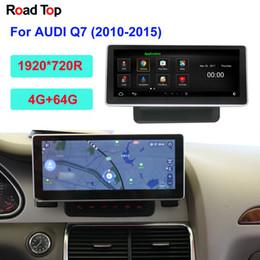 carro rádio gps wifi hyundai Desconto 10,25 polegadas touch screen Android Para Q7 2010-2015 com o carro Rádio Navegação GPS Wifi Bluetooth Multimedia Player dvd