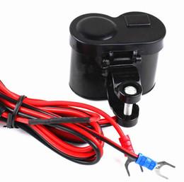 mechero usb moto 12v Rebajas Cargador de teléfono móvil de la motocicleta coche eléctrico USB del coche de carga accesorios de la motocicleta multifunción encendedor de cigarrillos velocidad de carga 12 V