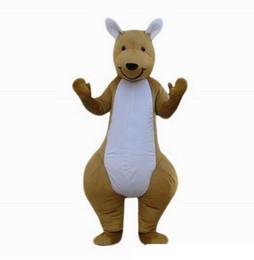 Profesional personalizado marrón Canguro Traje de la mascota de dibujos animados ancho animal personaje Ropa Fiesta de Halloween Fiesta de disfraces desde fabricantes