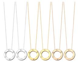 Stud anillo de la joyería collar de amor desde fabricantes