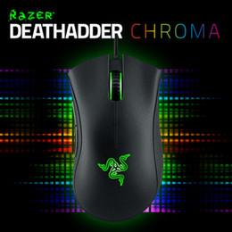 rote leichte maus Rabatt Razer Deathadder Gaming Mouse 3.5G (blaues Licht), 2013 (grünes Licht), Chroma (rote Option), Original Brand New item, In Stoc