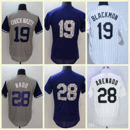 d8259312544 2018 Colorado Mens Flexbase 28 Nolan Arenado NADO 27 Trevor Story 19  Charlie Blackmon Coolbase Baseball Jerseys Stitched White Gray Purple