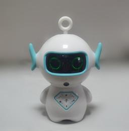 Novo Presente de Natal das Crianças AI ROBOT Robô Inteligente de Controle de Voz Dos Desenhos Animados máquina de educação precoce Wifi Brinquedo das Crianças de Fornecedores de raposa eletrônica