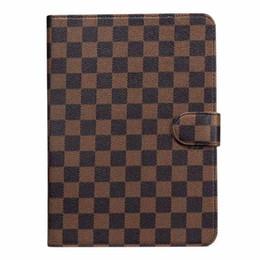 "2019 cobre mini silicone comprimido Flip wallet designer case do ipad casos tablet pc tablet de couro monograma para a apple ipad pro 12.9 ""air 2 3 à prova de choque para ipad mini 4/5"