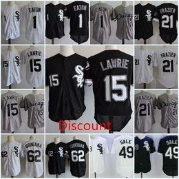 2308f5d766c Discount Jersey Men #62 Jose Quintana Cool base Jersey Stitched #1 Adam  Eaton 15 Brett Lawrie 21 Todd Frazier 49 Chris Sale Flex base Jersey