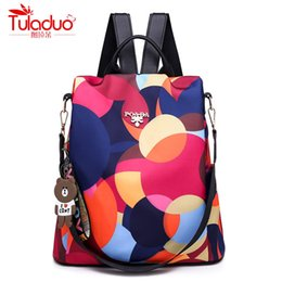 Fashion Anti-theft Women Backpacks  Ladies Large Capacity Backpack High Quality Waterproof Oxford Women Backpacks от