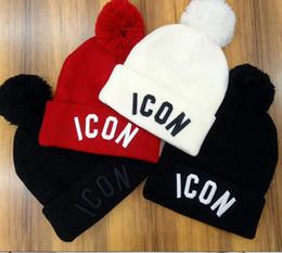 Date Hiver unisexe marque ICON hommes mode tricoté chapeau classique sport casquettes de crâne Femme casual en plein air Hip hop beanies gorros ? partir de fabricateur