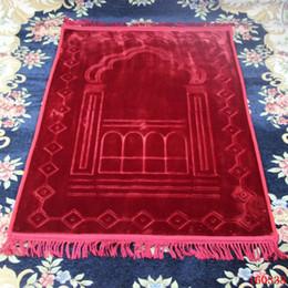Alta Qualidade aumentar a espessura de Oração Super Macio Prayer Mat muçulmana Mat Multicolor macia Mats Christmas Gift grátis de