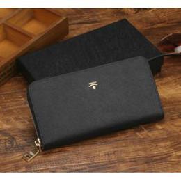 Argentina 2019 mujeres de cuero de los hombres larga marca de moda marca de lujo diseñador clásico largo carteras monedero bolsos al por mayor con caja cheap long boxes Suministro