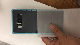 2019 batería de la caja xperia OEM puerta de la batería de la cubierta de cristal con la tapa de la lente de cámara + adhesivo pegatina para Samsung Galaxy S8 S9 s8plus s9plus note8