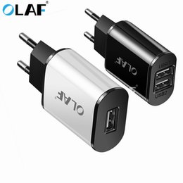 chargeur iphone europe Promotion EU Plug USB Chargeur 2A Coffre-fort Rapide Adaptateur USB Adaptateur Europe Travel Wall Charger pour Huawei Kindle HTC pour Samsung Xiaomi