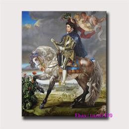 знаменитые картины Скидка Майкл Джексон, 2010 По Kehinde Wiley,1 шт. холст печатает стены искусства маслом домашнего декора (без рамы / в рамке) 24x32.