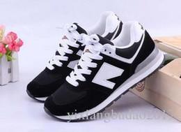a76e8034758b4 2019 zapatos de equilibrio 23 colores Nuevo deporte Zapatos para correr  Mujer Hombre Bajo con cordones