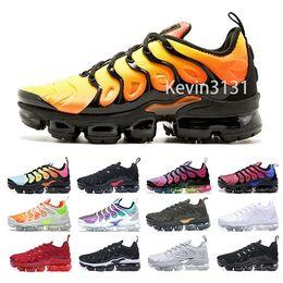 best cheap 903f0 c0044 Neue Mercurial TN Plus Herren Lauf Designer Schuhe Männer Trainer Sport  Luftkissen Atmungsaktive Outdoor Top Qualität Billig Wandern Jogging Schuhe