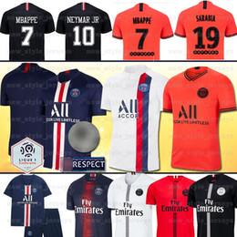 copa real madrid Rebajas MBAPPE Maillots de foot 19 20 PSG jersey de fútbol Paris 10Neymar jr CAVANI DI MARIA germain jersey camisetas football men kids sets