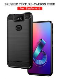 2019 estojos móveis móveis ASUS TPU caso de telefone móvel ZenFone 6 Max M2 Max Pro M2 V ao vivo 4 Max tampa do escudo do telefone