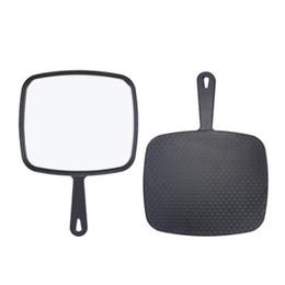 2020 салон идеальный Профессиональный Handheld это зеркало продукт идеально подходит размер Салон Главная сад парикмахеры парикмахеры зеркало с Handl ZJ0422 дешево салон идеальный