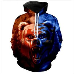 2020 sudaderas con capucha de chicago New Fashion Men Women Chicago Bears Funny 3d Sweatshirts Hoodies Autumn Winter Casual Print Hooded Pullovers Tops WR0110