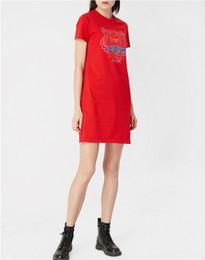 S k одежда онлайн-Tiger Head футболка женская 100% хлопок K бренд с коротким рукавом модные топы с длинным тройником Высококачественная роскошная одежда Летние платья дизайнер футболка