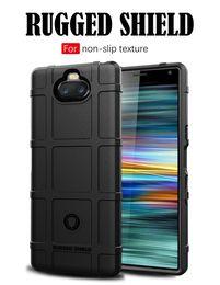 2019 funda sony xperia xa Para Sony Xperia 10 Plus XA 3 3U XZ4 funda de silicona anti deslizamiento de la cubierta del teléfono para el iPhone XS Max XR rebajas funda sony xperia xa