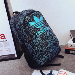 Nouveau design designer de mode sacs à dos Hommes Femmes Nouvelle Arrivée Sac À Dos Voyage Pliable Zipper Polyester Matériel Sac D'école pour les étudiants ? partir de fabricateur