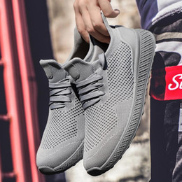 scarpe da corsa leggera Sconti Da corsa Scarpe da jogging sport degli uomini ultra leggero estiva all'aperto Fitness traspirante allenamento comoda Maschio Sneaker