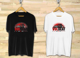 Banda branca de suor on-line-VOLBEAT Loud e Dirty Rock Band dos homens Preto Branco T-Shirt XS para 3XL Tamanho Discout Hot Novo Tshirt Trump sweat sporter t-shirt