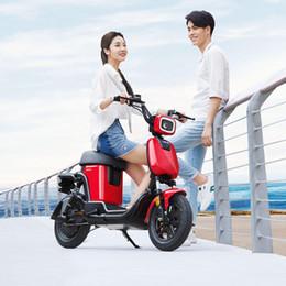 Argentina Xiaomi HIMO T1 bicicleta eléctrica HD LCD instrumento, grupo de luz LED 14 pulgadas 48V350W 14Ah / 28Ah Batería de litio 60-120 km Velocidad máxima 25km / h cheap bicycle battery led Suministro