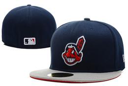 cleveland basketball Rabatt Guter Verkauf Online-Shopping Cleveland Indianses ausgestattet Hüte Snapback Cap Männer Frauen Basketball Hip Pop