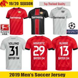 jerseys de epl Rebajas 19 20 Leverkusen Camiseta de fútbol L.BENDER 2019 2020 Bayer 04 Leverkusen HAVERTZ Camiseta de fútbol DEMIRBAY ALARIO VOLLAND Camiseta de fútbol